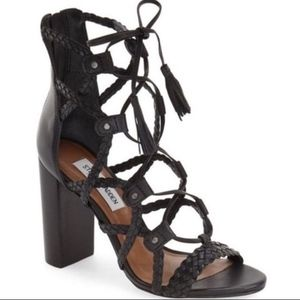 e42a34ef48a Steve Madden Shoes - STEVE MADDEN TARRA 7.5 NEW BLACK    LAST TIME LIST